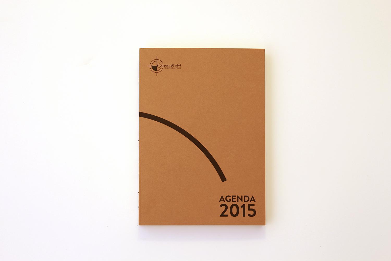 Gesamtansicht des Kalenders, der Agenda 2015