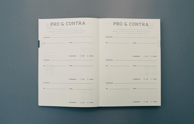 Detailansicht des Kalenders, der Agenda 2015